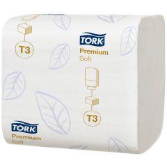 Papier hygiénique blanc ouate de cellulose Tork (30 pièces)