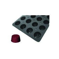 Plaque gn 1/1 24 muffins silicone gn 1/1 12,20 cl Moulflex Pro De Buyer