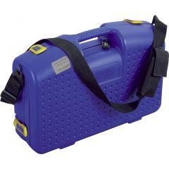 Mallette vide + barre aimantée rectangulaire bleu 31x45 cm Deglon