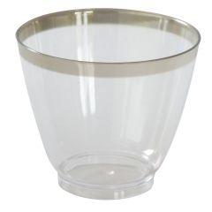 Verrine transparente plastique 80 ml Duni (100 pièces)