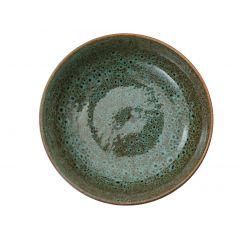 Coupelle ronde verte grès 35 cl Ø 14 cm Sky Pro.mundi