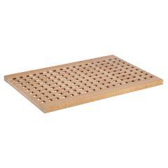 Planche à pain bois hêtre 34x52 cm Sans rigole Non réversible Aps