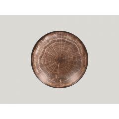 Assiette creuse rond oak Ø 23 cm Woodart Rak