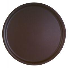 Plateau limonadier marron polyester bord profilé Platex