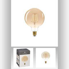 Ampoule led ambre g125 4w ronde Ø 10,50 cm