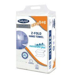 Essuie-main blanc ouate de cellulose 24x21,5 cm (21 pièces)