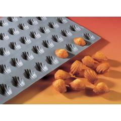 Moule mini-madeleines silicone gn 1/3 0,64 cl Elastomoule De Buyer