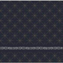 Serviettes non tissé 40x40 cm Glitter Noir Duni (60 pièces)