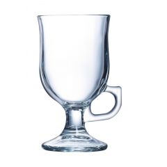 Verre à pied transparent verre 24 cl Ø 7,60 cm Irish Coffee Arcoroc