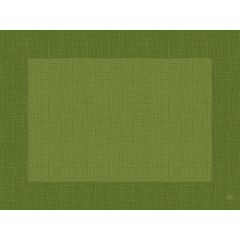 Set en papier vert feuille non tissé 40x30 cm Linnea Duni (100 pièces)