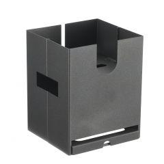 Base pour distributeur carrée carbone 355x195 mm Pintinox