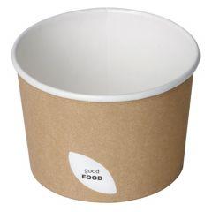 Bol rond beige Ø 9 cm 25 cl Duni (50 pièces)