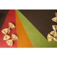 Set de table mandarine papier 30x40 cm Pro.mundi (500 pièces)