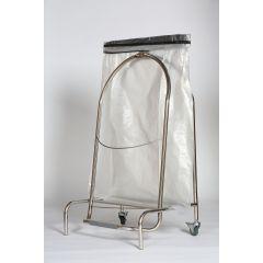 Porte sac à pinces irrégulier gris 110 l Probbax