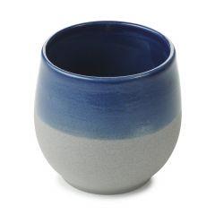 Tasse à thé bleue porcelaine 20 cl Ø 8 cm No.w Revol