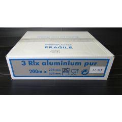 Recharge film aluminium taille 30x200 cm (3 pièces)