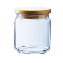 Pot avec couvercle transparent verre rond Box Mania Luminarc
