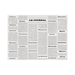 Set de table gris papier 40x30 cm Cogir (500 pièces)