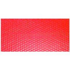 Nappe rouge papier 60x60 cm Tisslack Cogir (500 pièces)