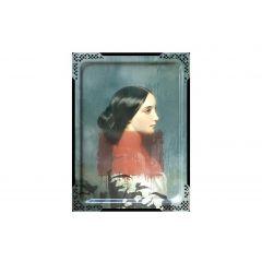Tableau ida 1 rectangulaire 65 cm Portrait Ibride