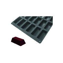 Plaque gn 1/1 20 mini cakes silicone gn 1/1 10,50 cl Moulflex Pro De Buyer