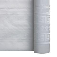 Rouleau de nappe blanc papier 10x1,20 m