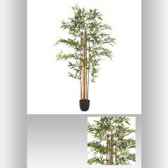 Bambou artificiel pot 180 cm