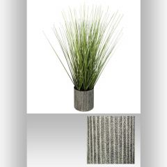 Herbe pot metal 13 cm