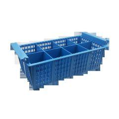 Panier à couverts plastique 20,80x42,70 cm