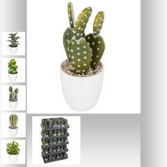 Plante artificielle cactus 7,50 cm