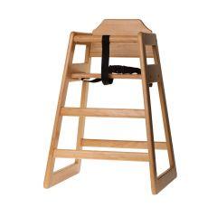 Chaise haute bébé marron 50 cm Tablecraft