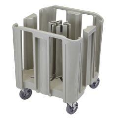 Chariot porte-assiettes plastique 68,58x68,58 cm Cambro