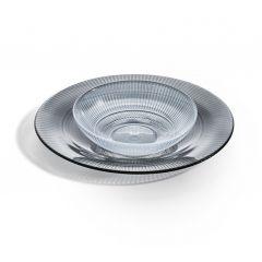 Coupelle ronde transparente verre 50 cl Ø 16 cm Louison Luminarc