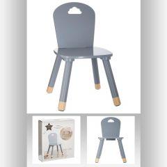 Chaise douceur gris grise 32x32 cm