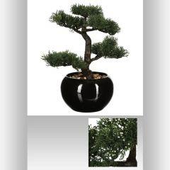 Bambou artificiel pot ceramique 36 cm