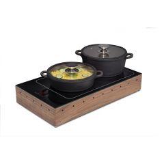 Plaque de maintien en température rectangulaire 1000 W Zepe