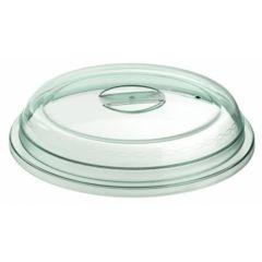Couvre assiette vert plastique rond Regithermie