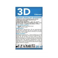 Nettoyant désinfectant en doses 20 ml (250 pièces)