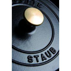 Cocotte noire fonte d'acier Ø 16 cm 1,20 l Staub