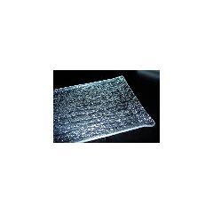 Plateau rectangulaire transparent plastique 40 cm Pap Glace Platex