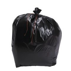 Sac à déchets noir 140 cm 20 µm (100 pièces)