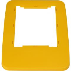 Cadre couvercle rectangulaire jaune 32,50x45,50 cm Probbax