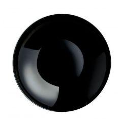 Assiette creuse ronde noire verre Ø 26 cm Evolutions Arcoroc