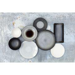Bol rond noir porcelaine Ø 19 cm Swell Revol