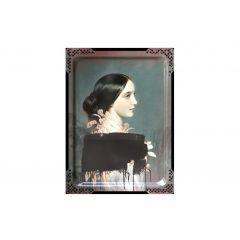 Tableau ida 4 rectangulaire 65 cm Portrait Ibride