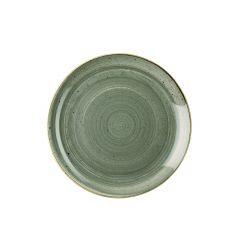 Assiette coupe plate ronde pepper porcelaine Ø 21,70 cm Stonecast Churchill