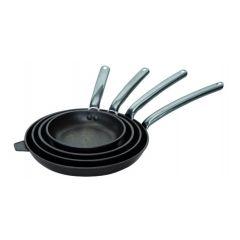 Poêle ronde fonte d'aluminium Avec revêtement anti adhésif Ø 20 cm Choc Extreme De Buyer