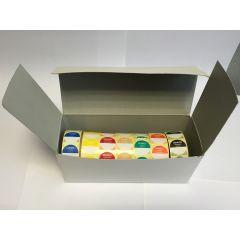 Boîte 7000 étiquettes Ø 2,4 cm Avery (7000 pièces)