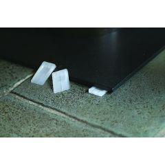 Cales de table blanc