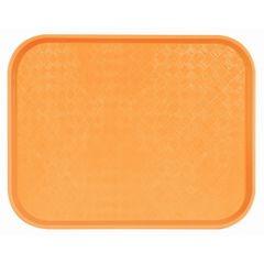 Plateau orange polyester bord droit Acer Pp Platex